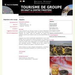 Finistère Touring :Roscoff - Algoplus - Visite d'entreprise