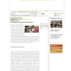 PAYSAN BRETON 23/10/14 Finistère (29) Le bio peine en baie de Douarnenez.