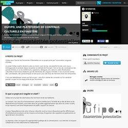 Oufipo, une plateforme de contenus culturels en Finistère : Ouvroir de FInistérités POtentielles, projet porté par Longueur d'Ondes, pour recevoir, emmaganisér des sons produits depuis la pointe de la côte Ouest.