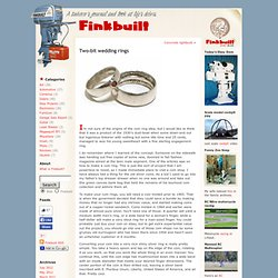 Blog Archive » Two-bit wedding rings