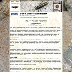 FINL Vol. 9, No. 1 Mealworms: Raising Mealworms for Food
