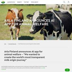 Finland announces AI app for animal welfare