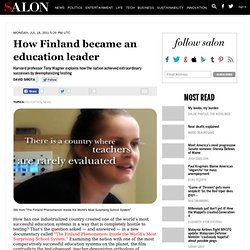 How Finland became an education leader - David Sirota