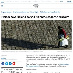 Here's how Finland solved its homelessness problem