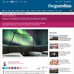 More to Finland than the northern lights