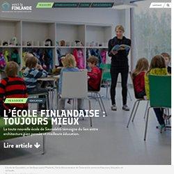 L'école finlandaise : toujours mieux - voicilaFINLANDE