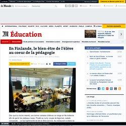 En Finlande, le bien-être de l'élève au coeur de la pédagogie