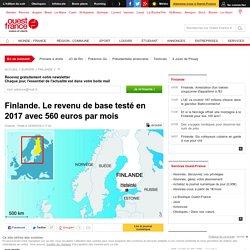 Finlande. Le revenu de base testé en 2017 avec 560 euros par mois