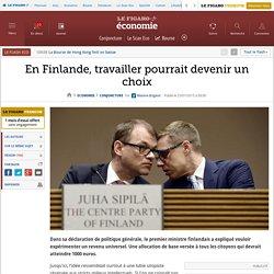 En Finlande, travailler pourrait devenir un choix