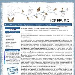 La página de Pep Bruno - La Escuela Finlandesa y el Catálogo Tipológico de los Cuentos Folklóricos