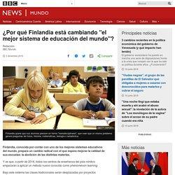 """¿Por qué Finlandia está cambiando """"el mejor sistema de educación del mundo""""?"""