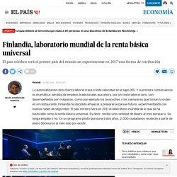 Finlandia, laboratorio mundial de la renta básica universal