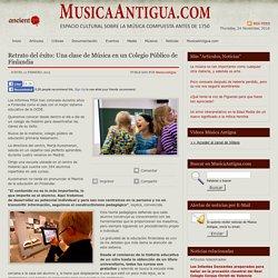 Retrato del éxito: Una clase de Música en un Colegio Público de Finlandia « MusicaAntigua.com