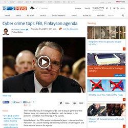 Cyber crime tops FBI Finlayson agenda