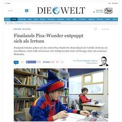 Pisa: Finnland taugt doch nicht als Vorbild für Schulen
