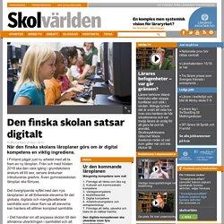 Den finska skolan satsar digitalt