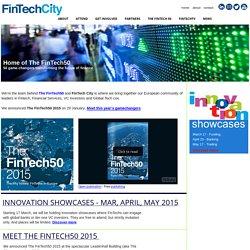 FinTech City - home of The FinTech50