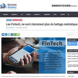 Les Fintech, ne sont clairement plus du battage médiatique !