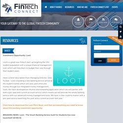 FinTech Connect - Resources