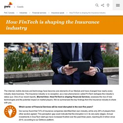 How FinTech is shaping the Insurance industry
