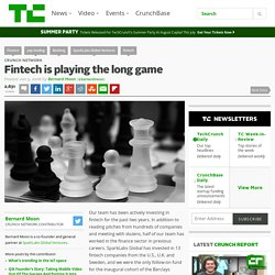 Fintech is playing the long game