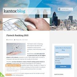Fintech Ranking 2015