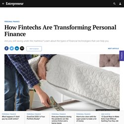 How Fintechs Are Transforming Personal Finance