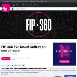 SON 3D : Maud Geffray <3 x 10^10