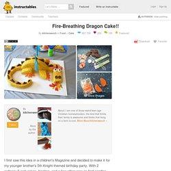 Fire-Breathing Dragon Cake!!: 6 Steps
