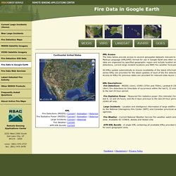 Fire Data in Google Earth