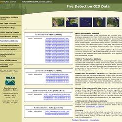 Fire Detection GIS Data