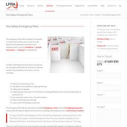 Fire Emergency Plan in London