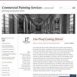 Fire-Proof Coating Detroit