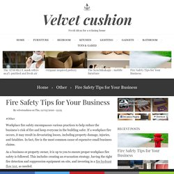 Fire Safety Tips for Your Business