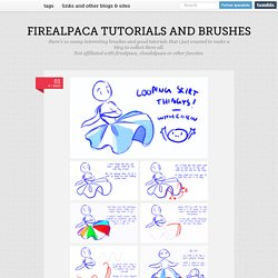 firealpaca tutorials and brushes
