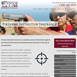 Benefits of Firearms Instructor Insurance