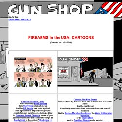 Firearms in the USA: Cartoons