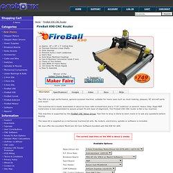 FireBall X90 CNC Router -