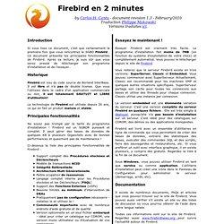 Firebird en 2 minutes