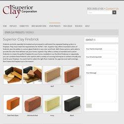 Firebrick - Superior Clay