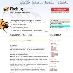 Firebug Lite : Firebug