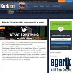 FireChat - Communiquer sans opérateur ni réseau