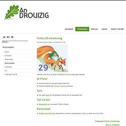 Firefox 29 e brezhoneg