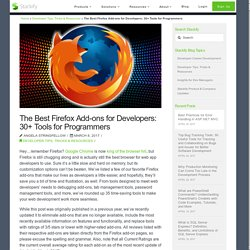 The Best Firefox Add-ons for Developers: 30+ Tools for Programmers