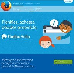 Firefox Hello : votre conversation vidéo gratuite en un clic