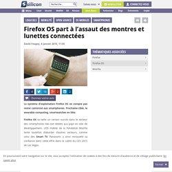 Firefox OS part à l'assaut des montres et lunettes connectées