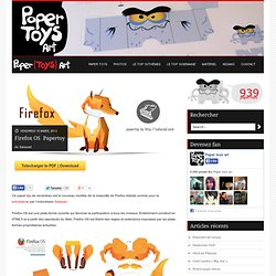 Firefox OS – Papertoy