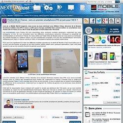 Firefox OS en France : vers un premier smartphone ZTE en juin pour 100 € ?