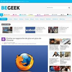 Firefox se rapproche de plus en plus de Chrome