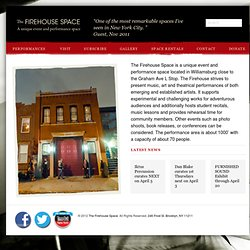 The Firehouse Space | A Unique Event Space in Brooklyn